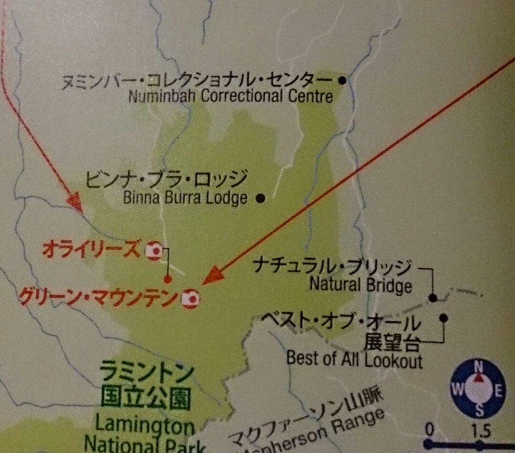 ラミントン スプリングブルック 地図