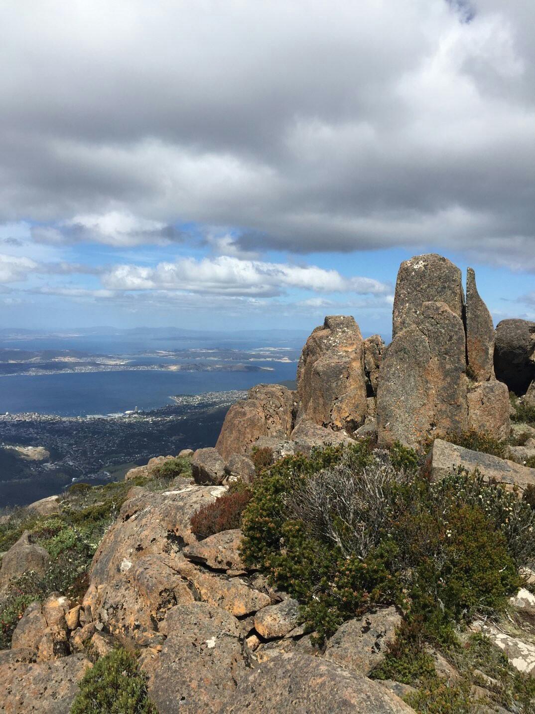 ウェリントン山 タスマニア