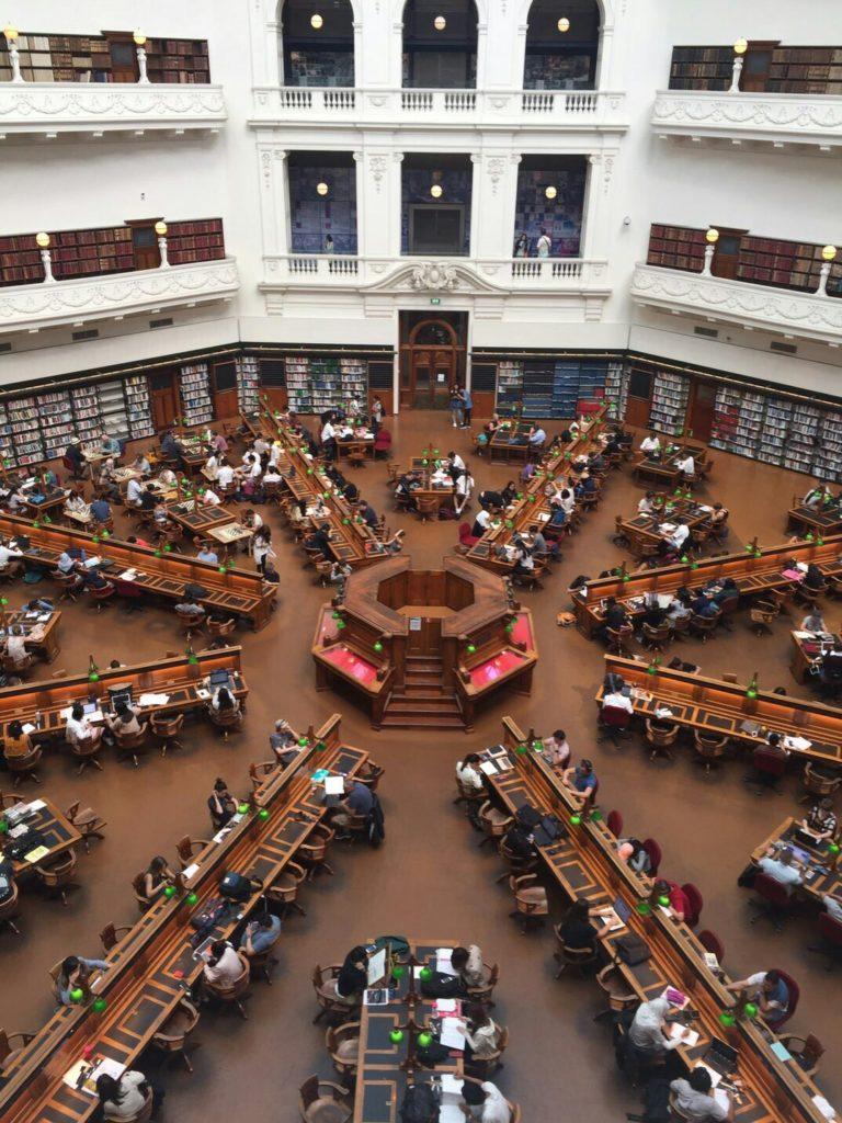 メルボルン 図書館