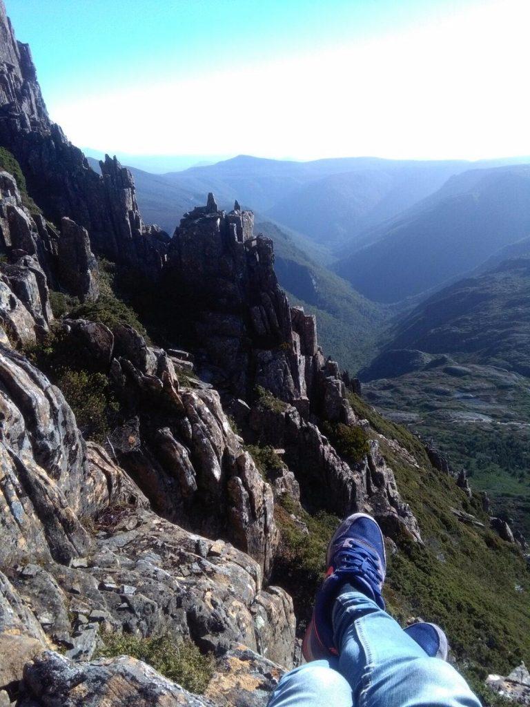 クレイドルマウンテン 登山