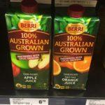 オーストラリアのスーパーにはフレッシュジュースがない!?何がオススメ?徹底比較してみた