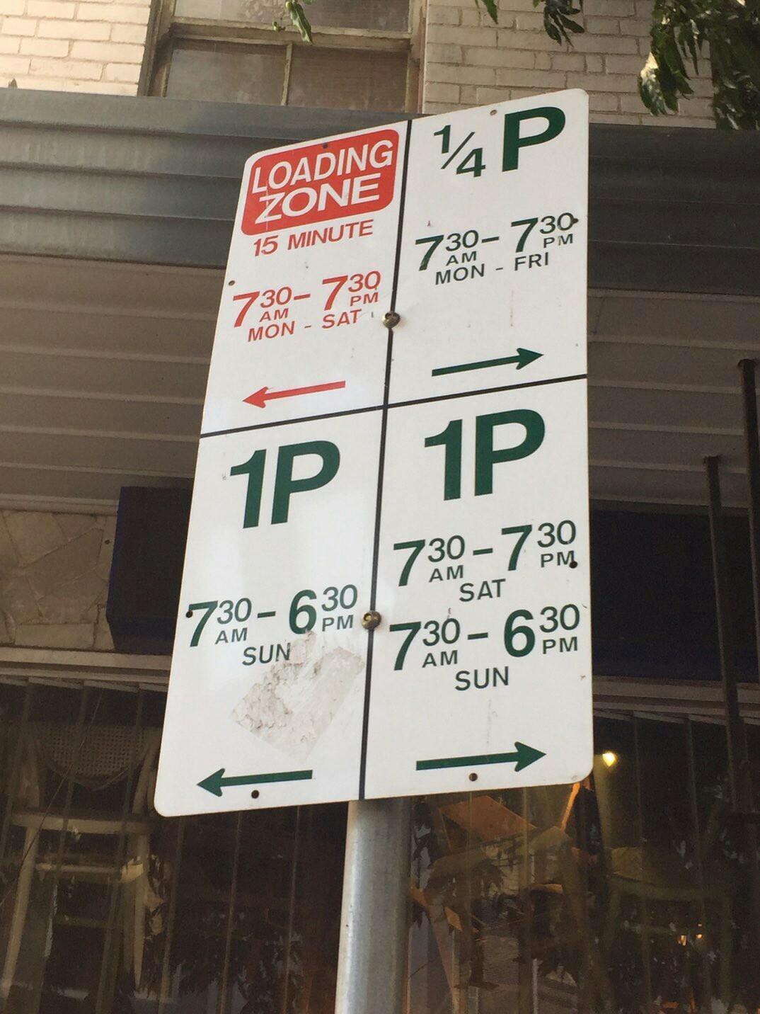 オーストラリア 標識