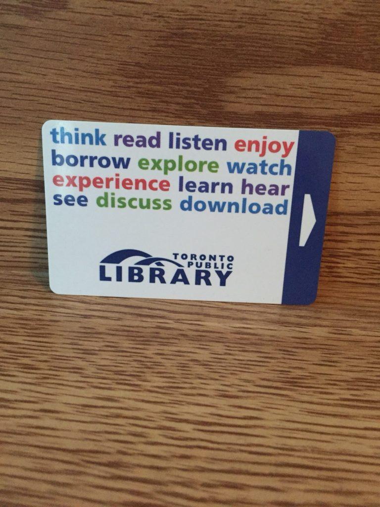 トロント 図書カード