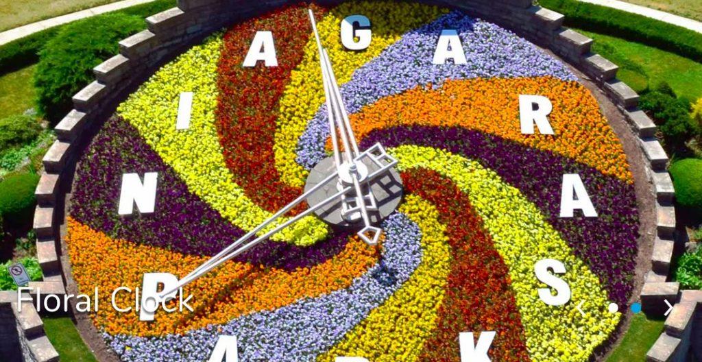 花時計 ナイアガラ